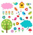 Birdstrees and bubbles for speech vector