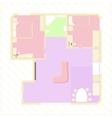 Apartment plan vector