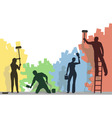 Color painters vector