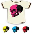 Skull t-shirt vector