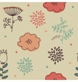 Ornament seamless of floral graphic design vector
