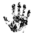 Hand trace vector