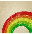 Retro rainbow vector