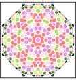 Circular colorful pattern vector