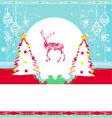 Reindeer design vector