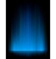 Blue aurora background vector
