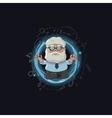 Cartoon of scientist character vector
