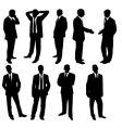 Businessmen vector