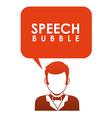Speech bubbles communication vector