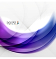 Abstract purple swirl design vector