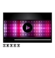 Media player design vector
