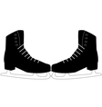 Pair of skates vector