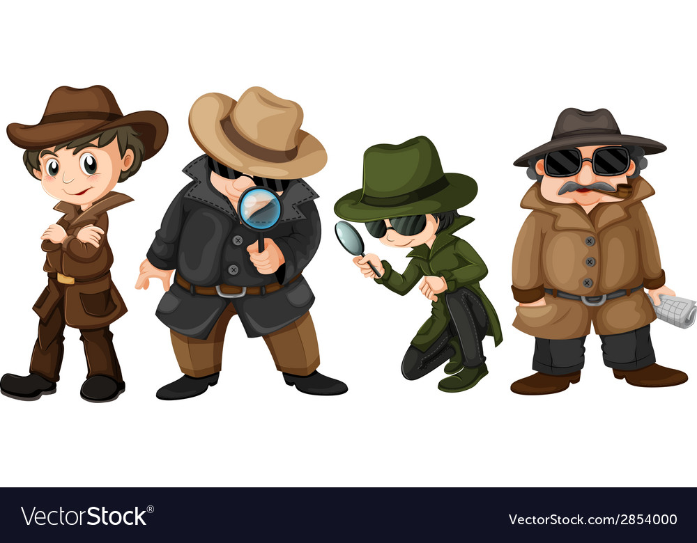Detectives vector | Price: 3 Credit (USD $3)