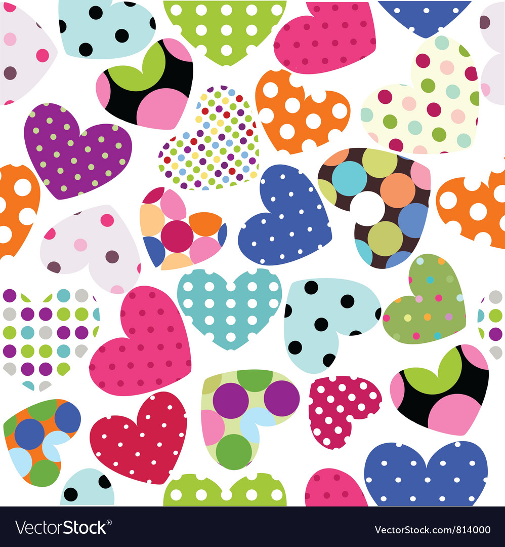 Heart patches vector | Price: 1 Credit (USD $1)