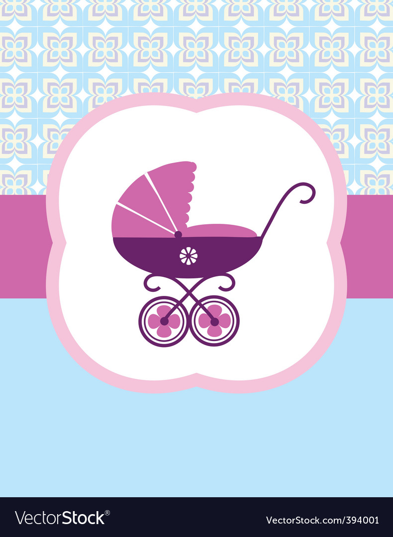 Baby pram vector | Price: 1 Credit (USD $1)