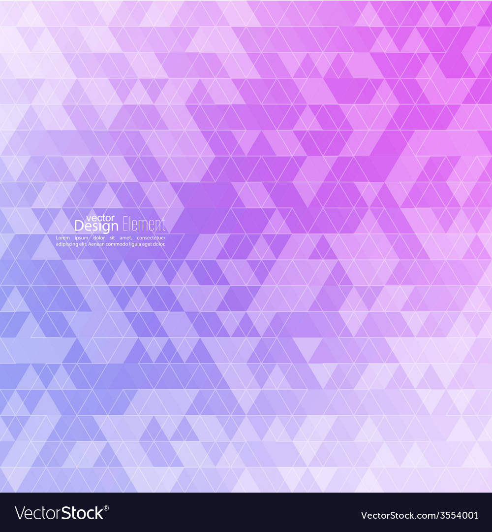 Creative abstract triangle pattern polygonal vector | Price: 1 Credit (USD $1)