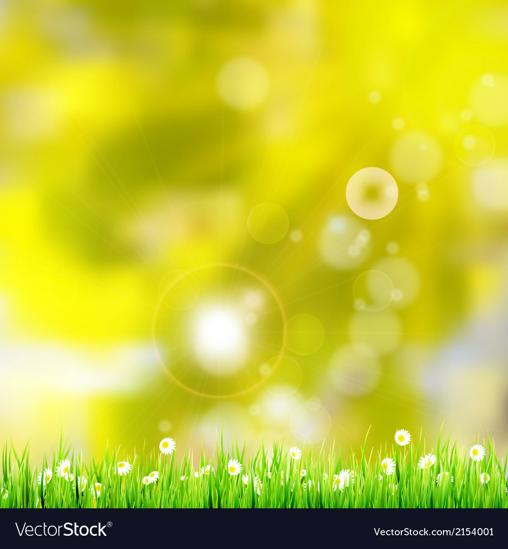 Natural green background eps 10 vector | Price: 1 Credit (USD $1)