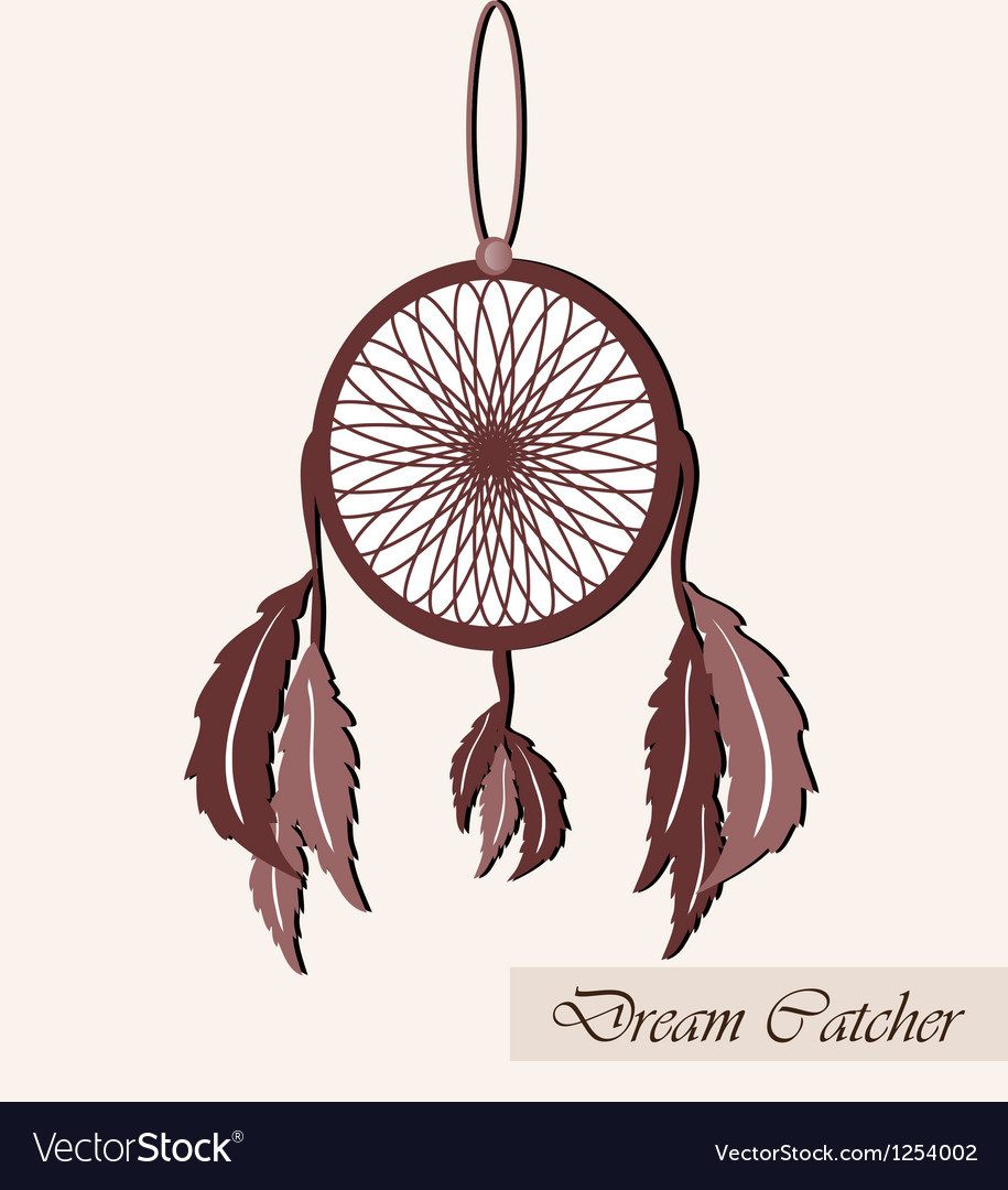 Lucky dream catcher vector | Price: 1 Credit (USD $1)