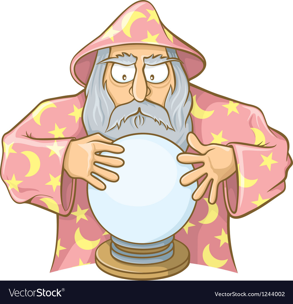 Wizard ball pink vector | Price: 1 Credit (USD $1)