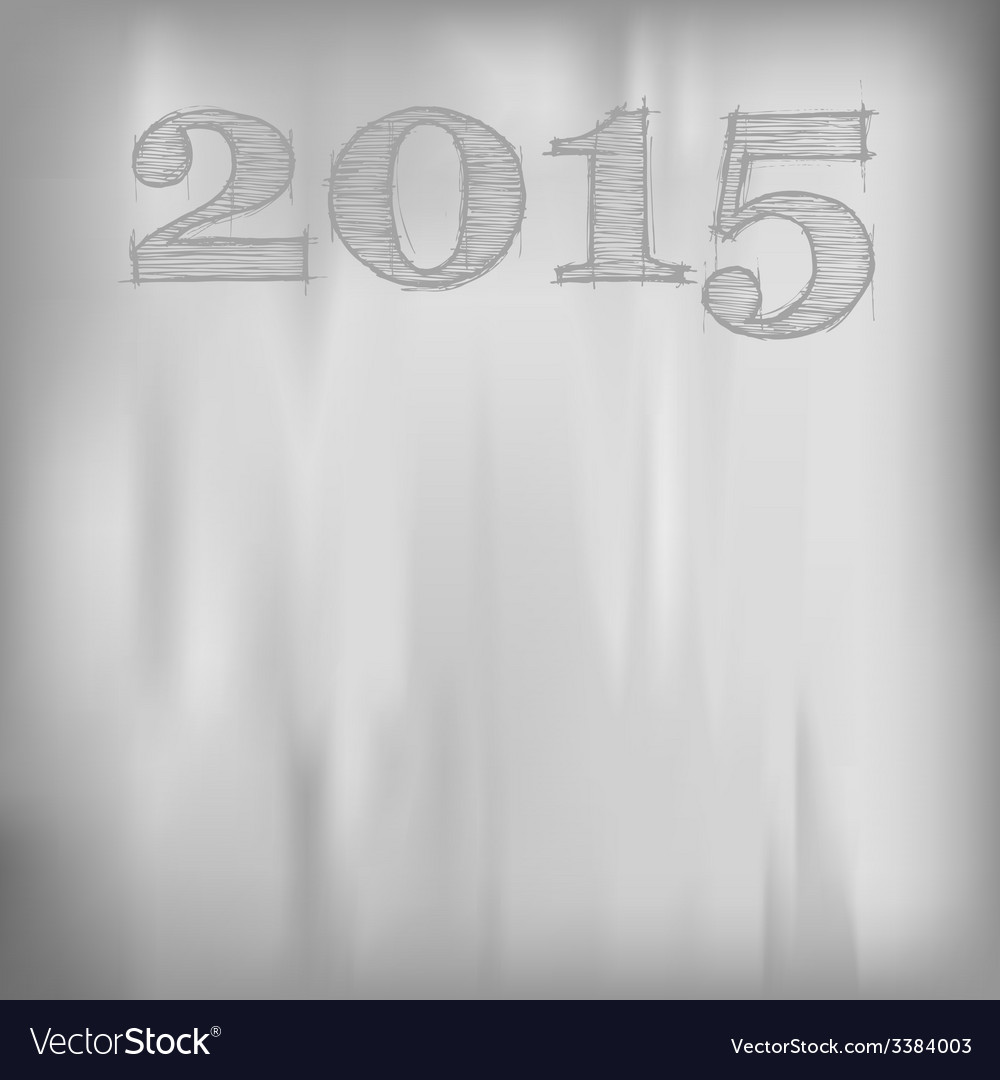 2015 gray background vector | Price: 1 Credit (USD $1)