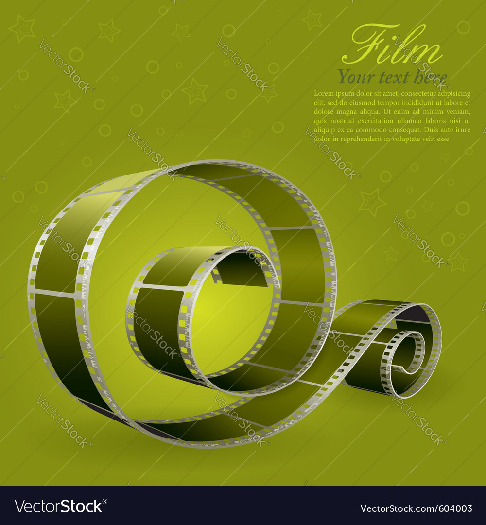 Photographic film element vector | Price: 3 Credit (USD $3)