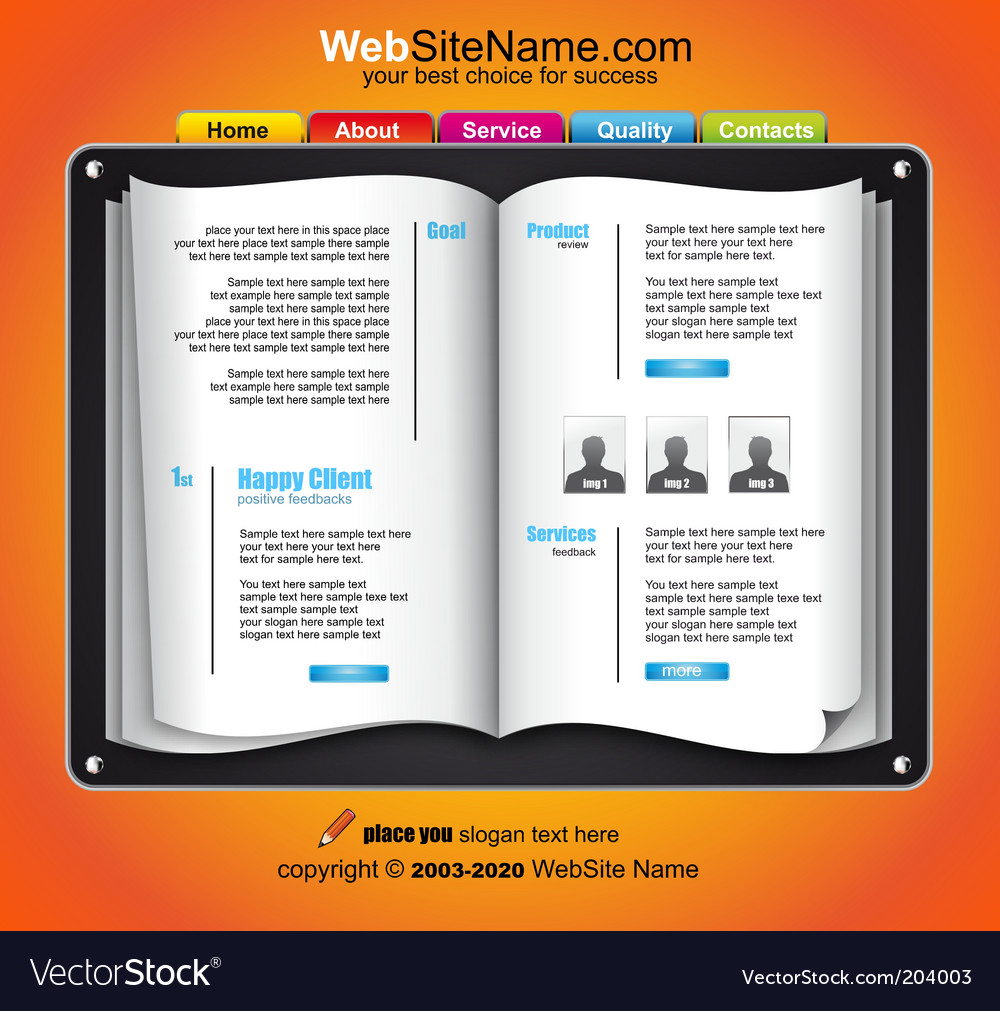 Web template vector | Price: 3 Credit (USD $3)