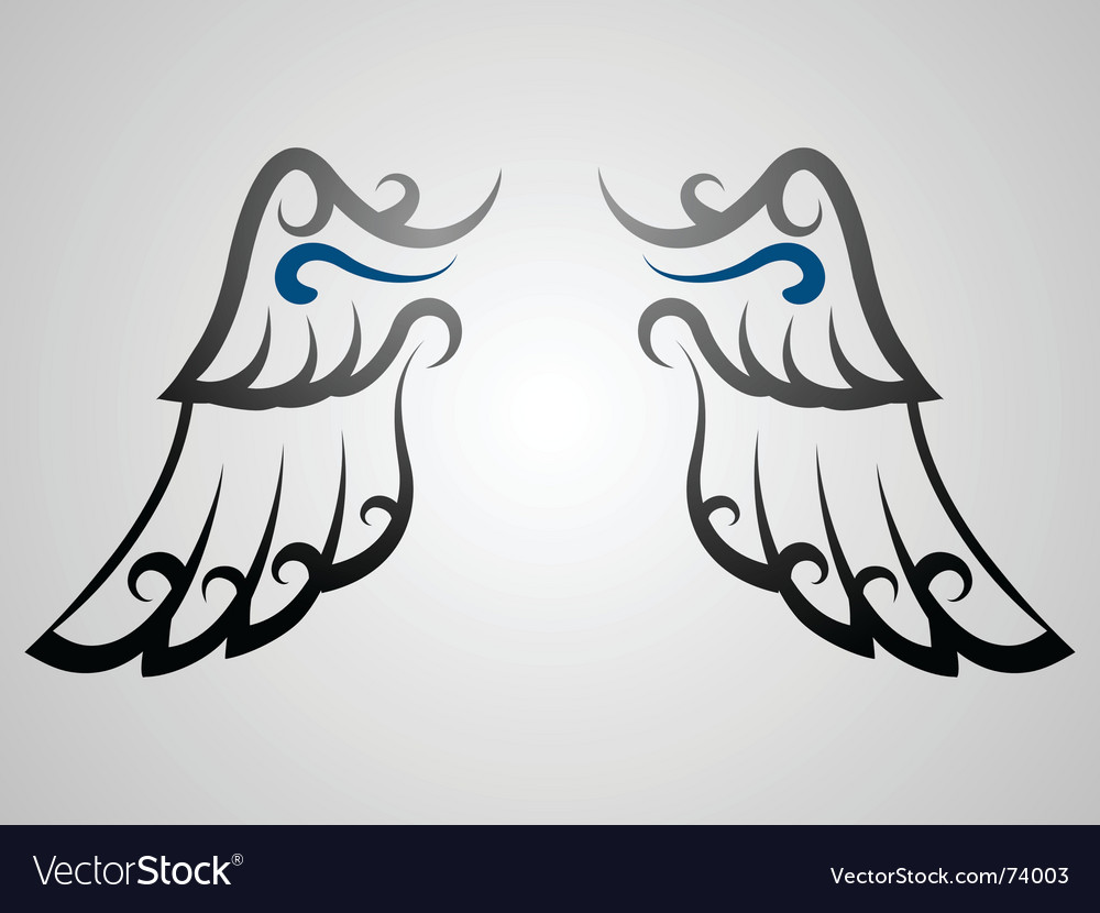 Wing vector | Price: 1 Credit (USD $1)
