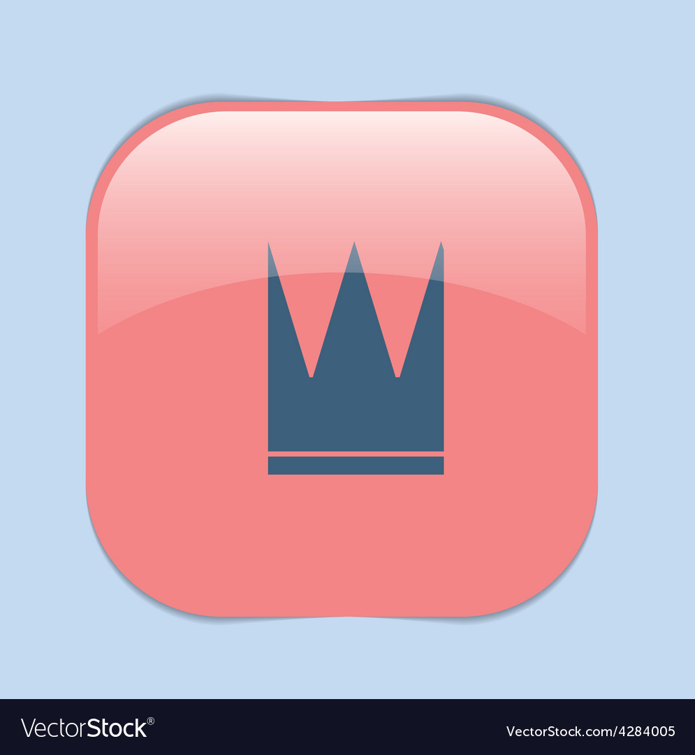 Crown icon vector | Price: 1 Credit (USD $1)