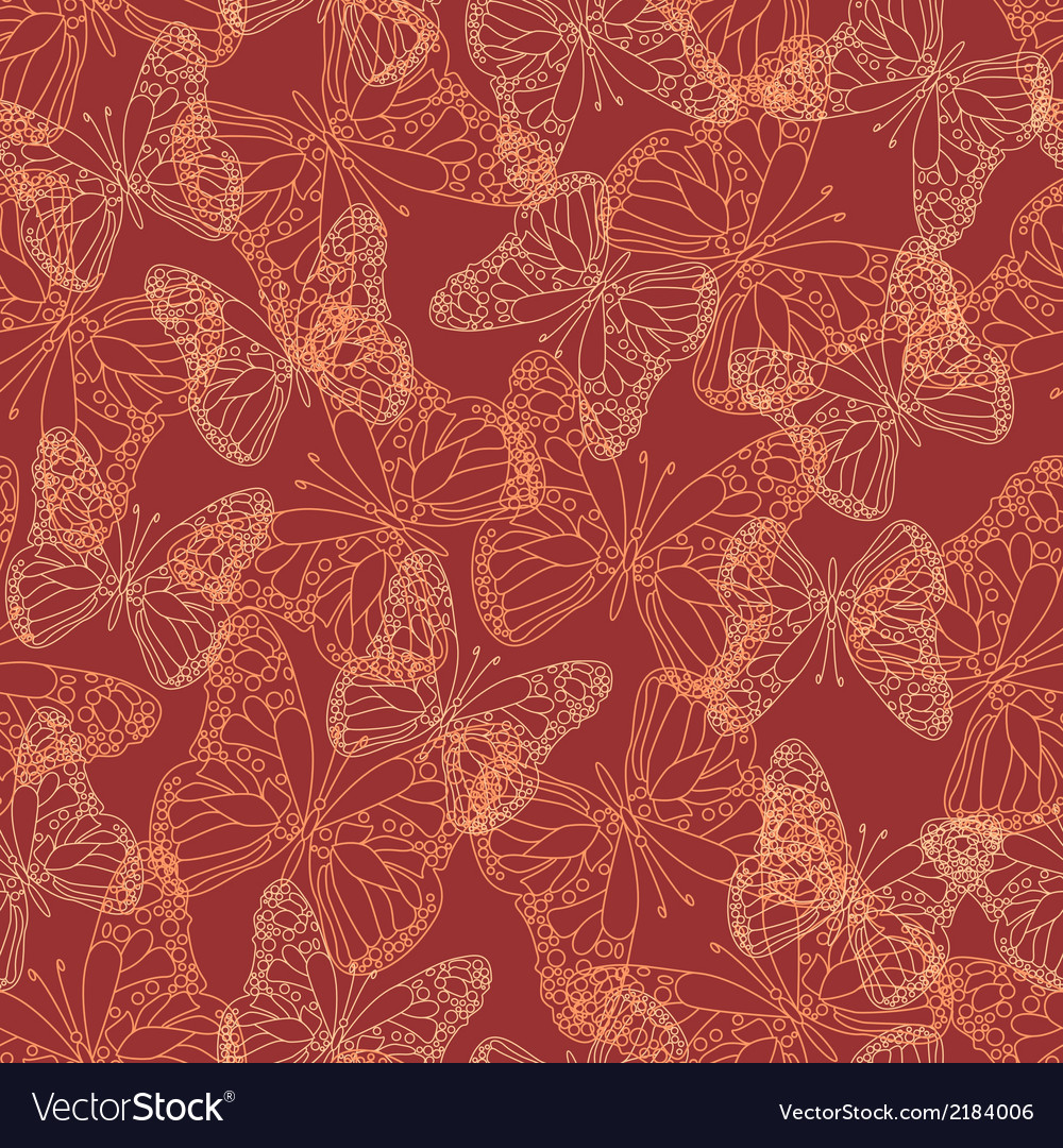 Butterfly pattern vector | Price: 1 Credit (USD $1)