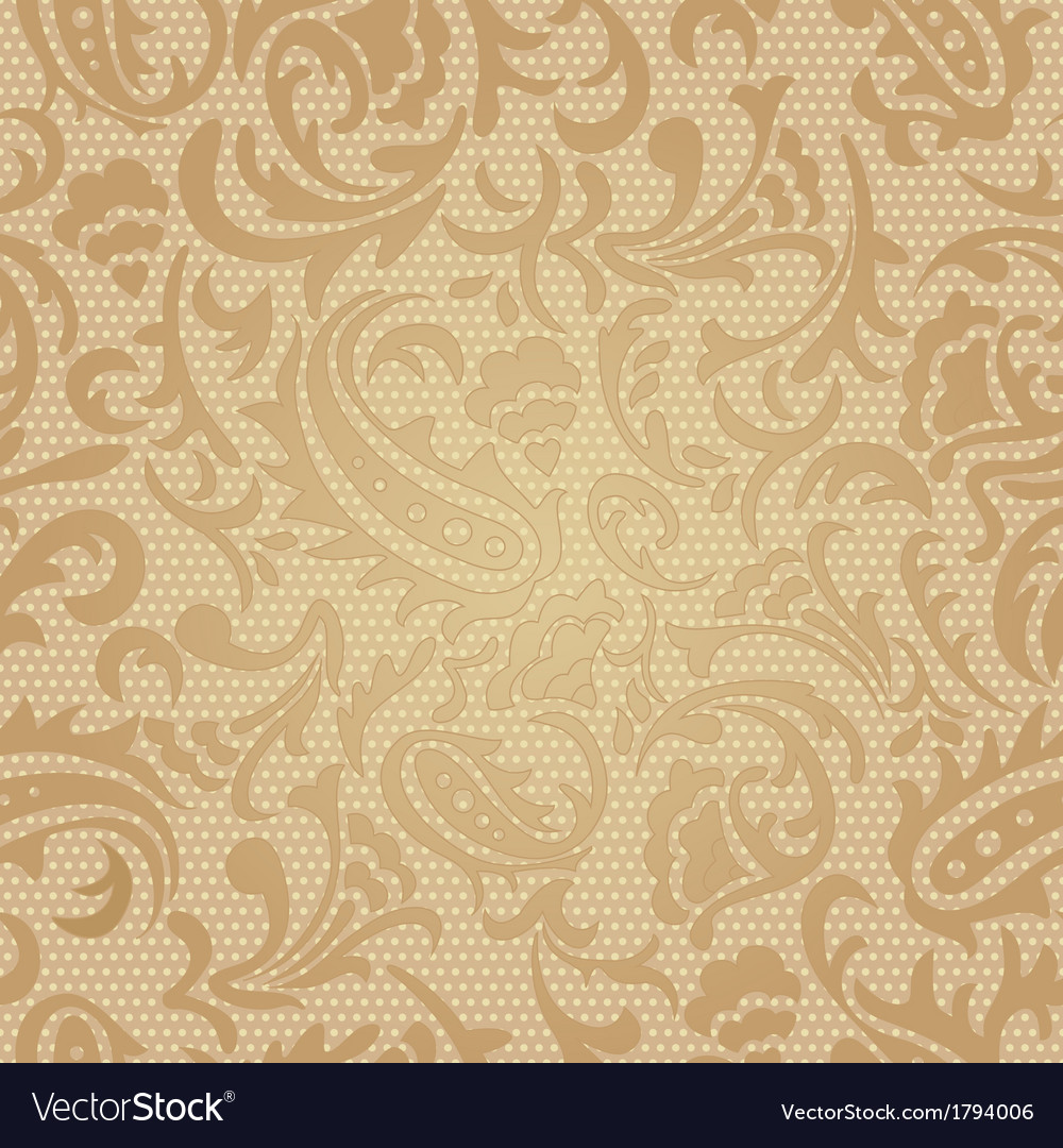 Seamless pattern  paisley colorful background vector | Price: 1 Credit (USD $1)