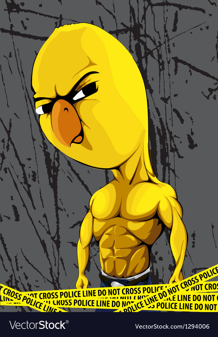Strong chick vector | Price: 1 Credit (USD $1)