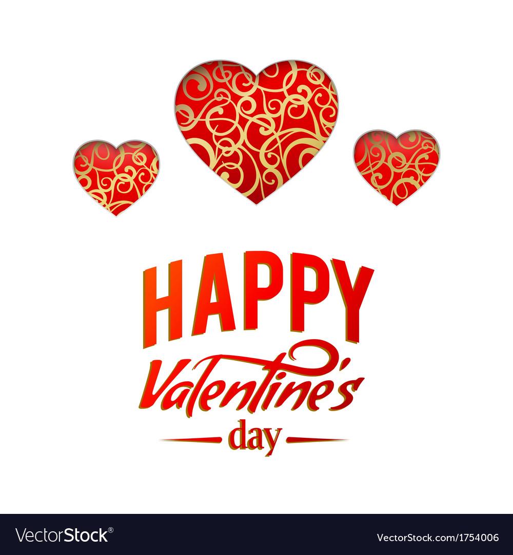 Valentine heart symbol vector | Price: 1 Credit (USD $1)