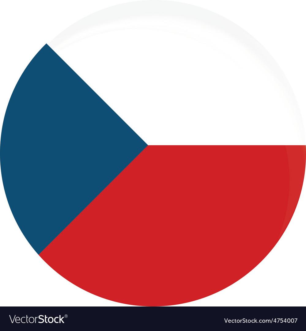 Czech flag vector | Price: 1 Credit (USD $1)
