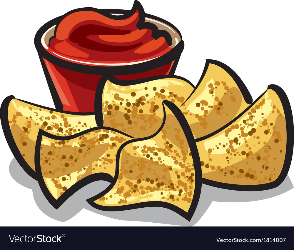 Nachos vector | Price: 1 Credit (USD $1)