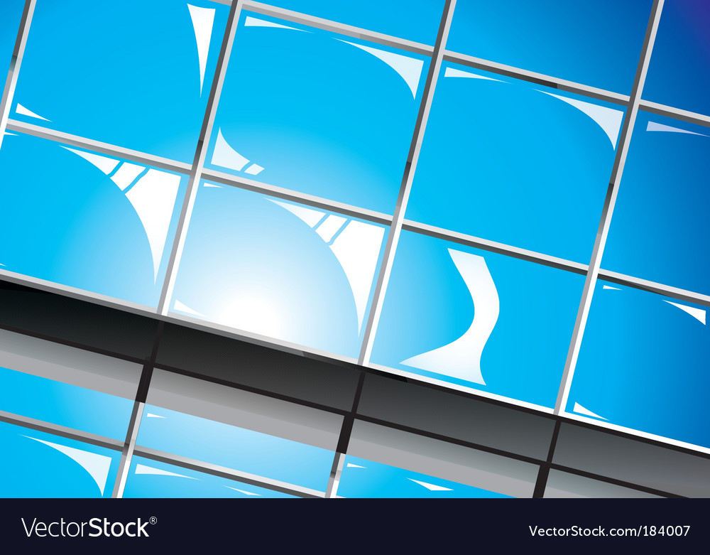 Shiny window reflections vector | Price: 3 Credit (USD $3)