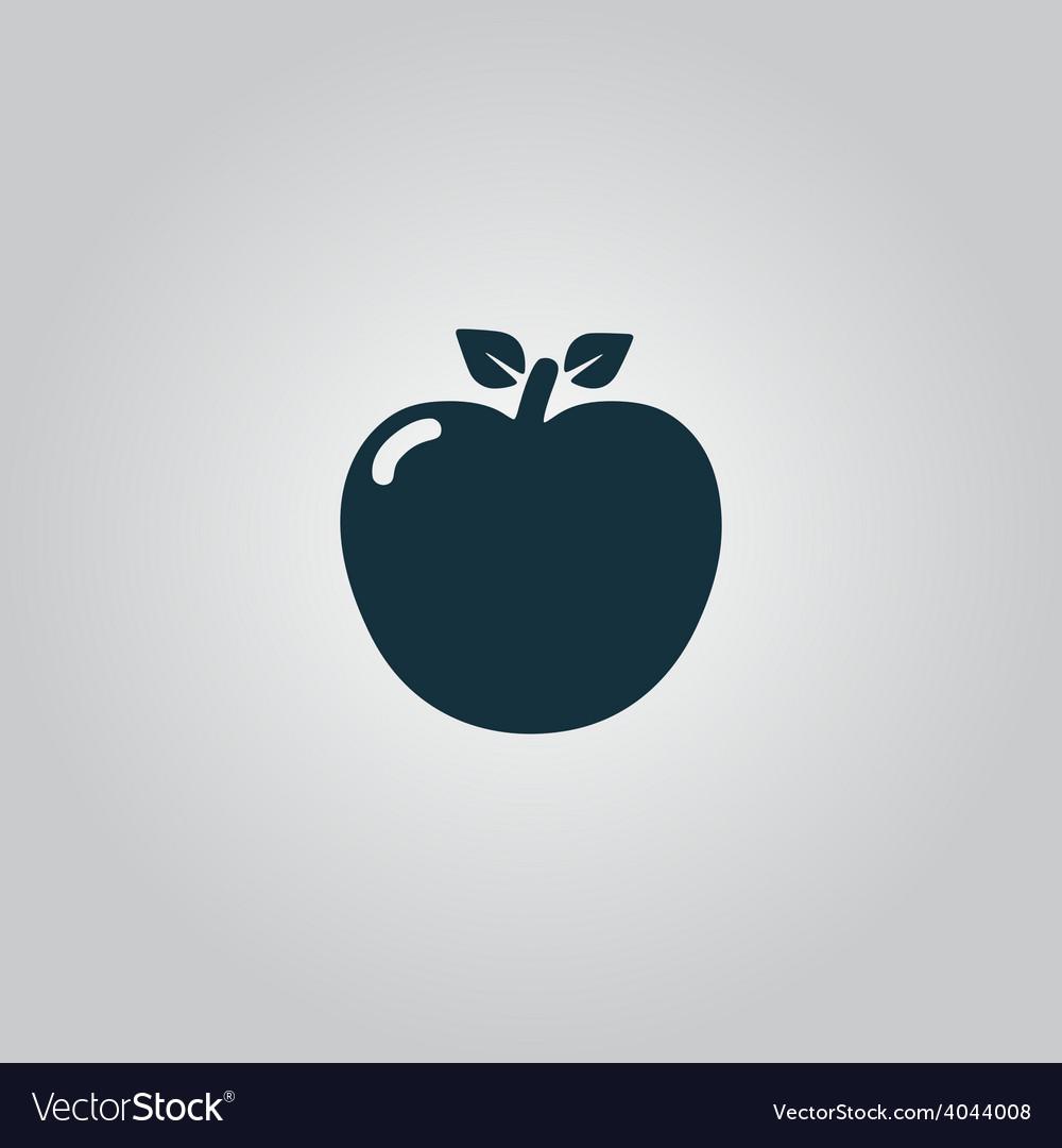 Apple - icon vector | Price: 1 Credit (USD $1)