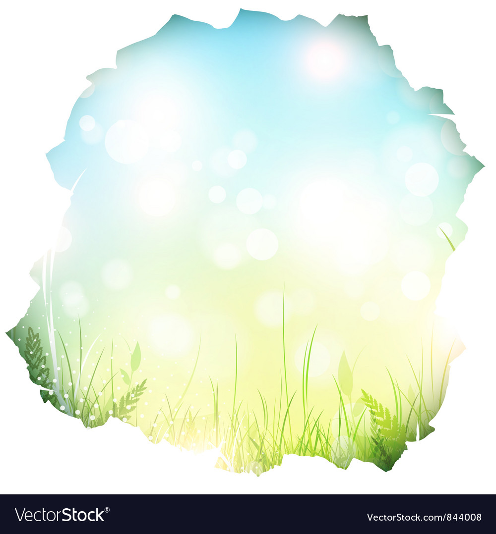 Paper hole with spring background vector | Price: 1 Credit (USD $1)