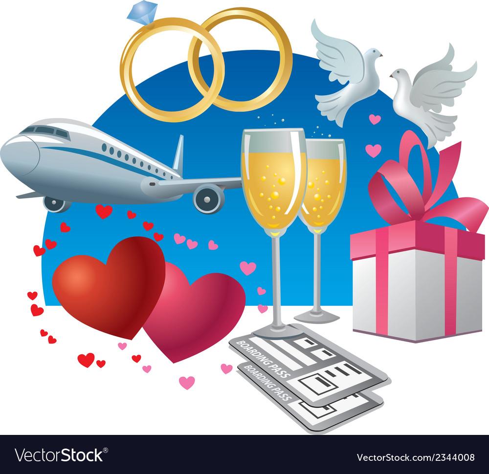 Wedding journey vector   Price: 3 Credit (USD $3)