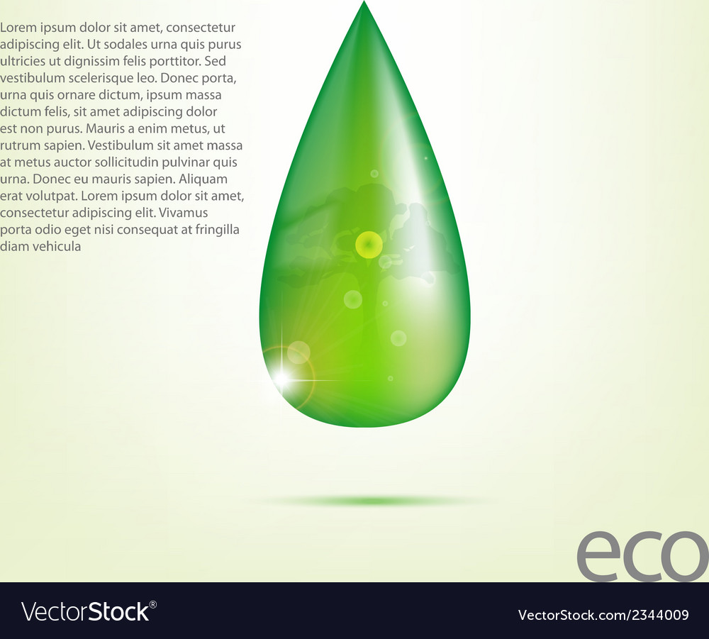 Ecology design element drawing vector   Price: 1 Credit (USD $1)