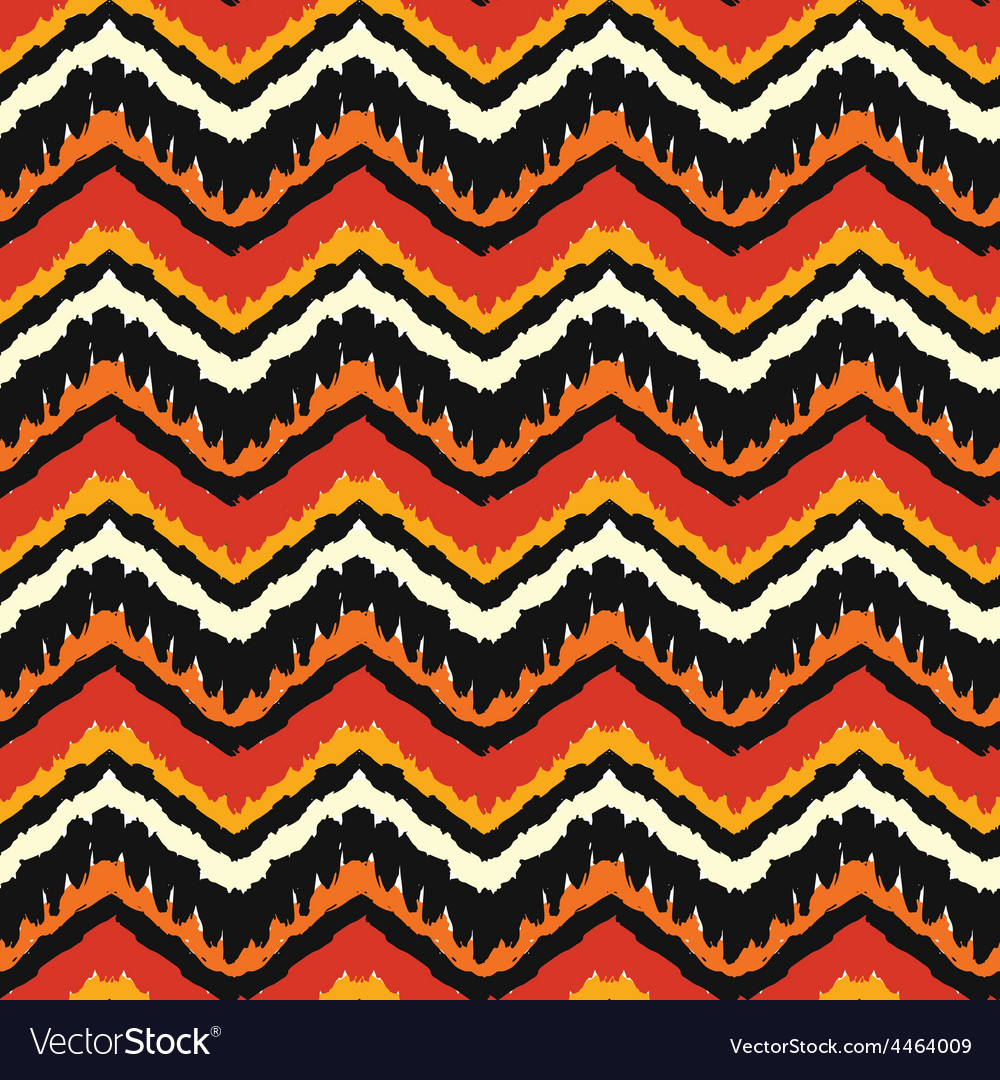 Orange ethnic pattern vector | Price: 1 Credit (USD $1)