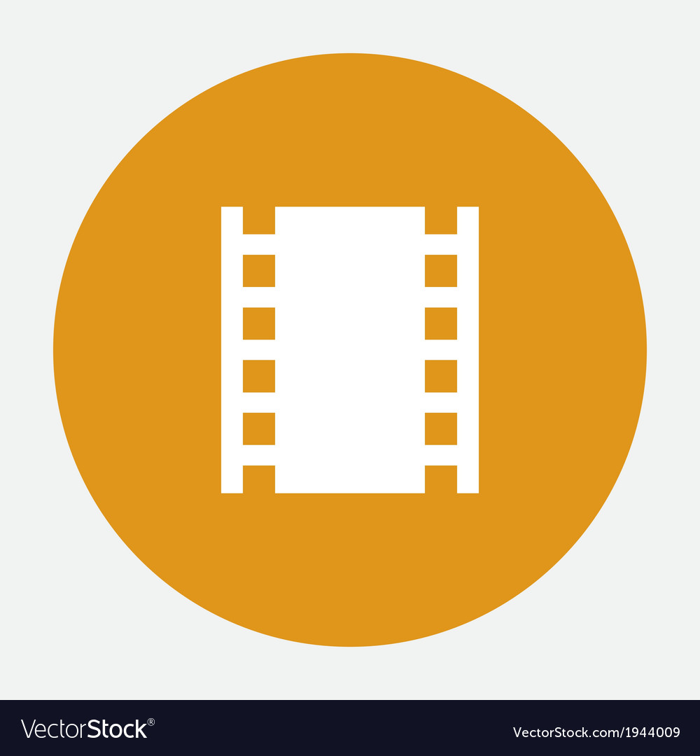 Photo film icon vector | Price: 1 Credit (USD $1)