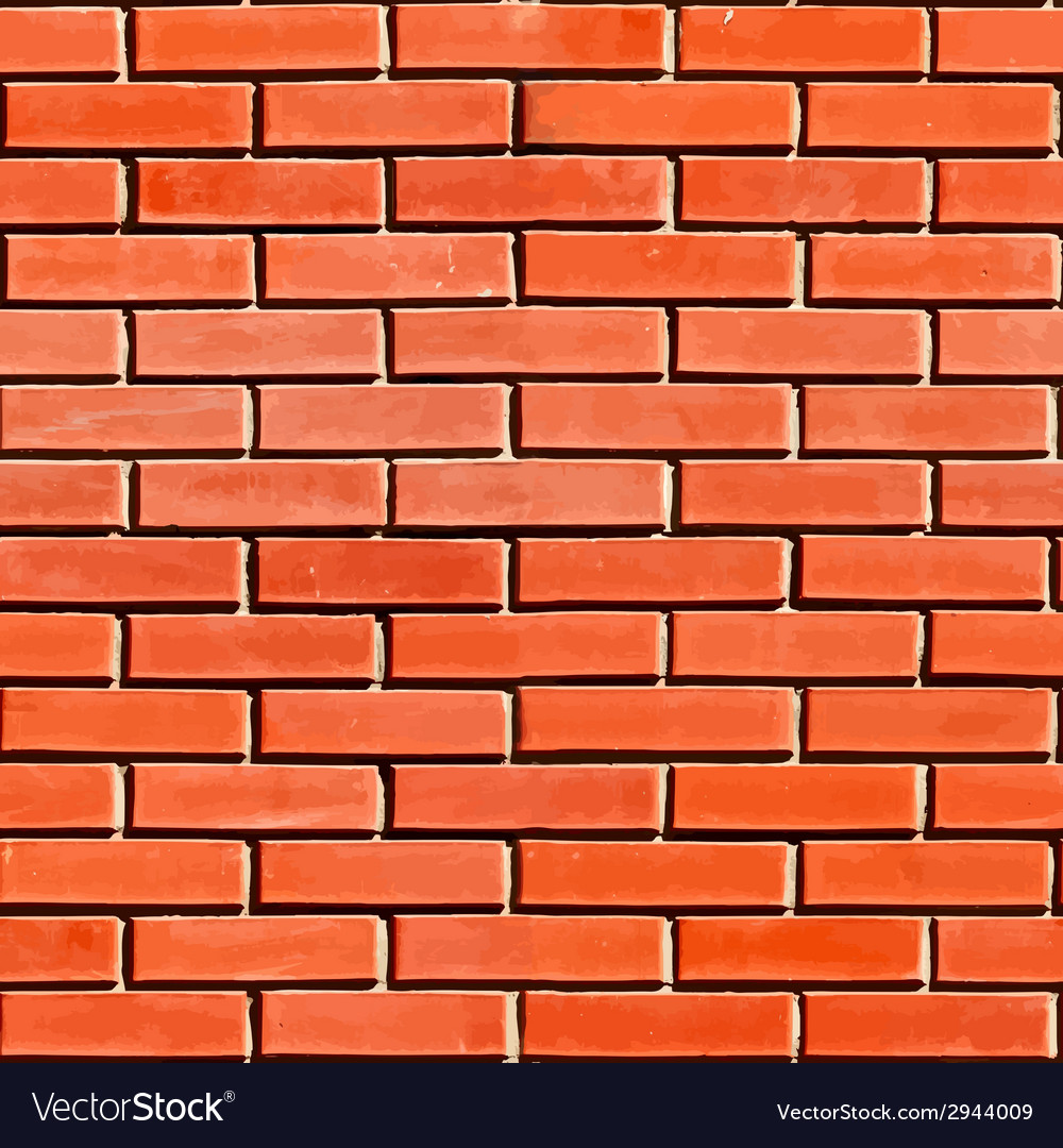 Red seamless brickwall vector | Price: 1 Credit (USD $1)