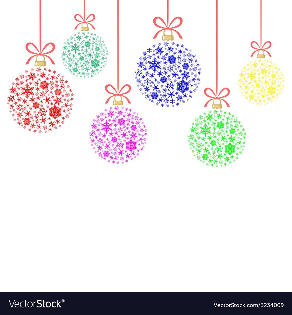 Snow balls vector | Price: 1 Credit (USD $1)