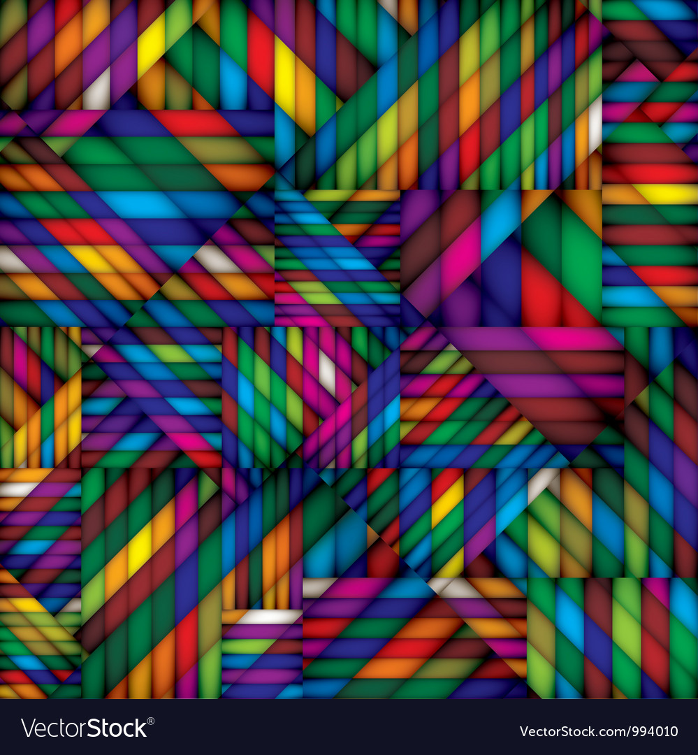 Abstract colorful textile seamless pattern vector | Price: 1 Credit (USD $1)