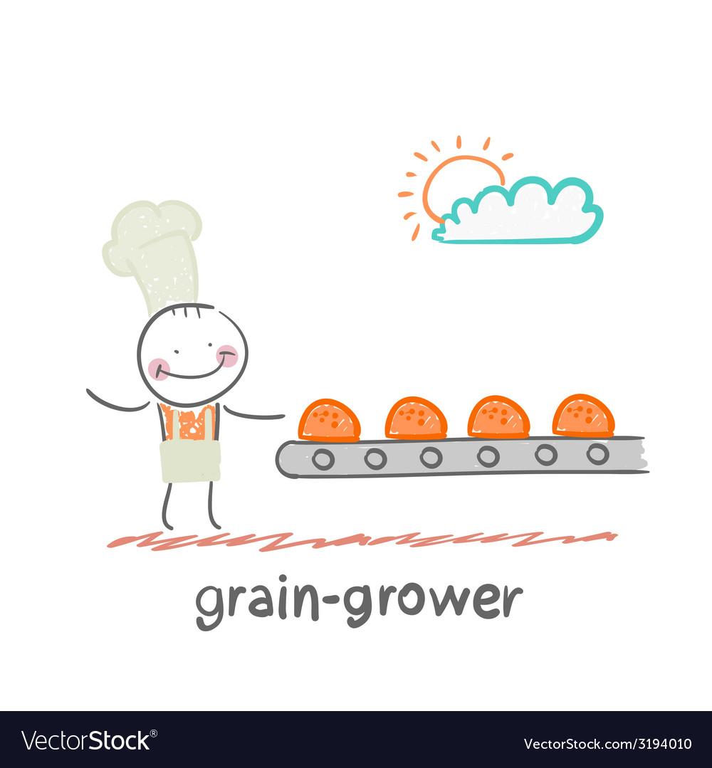 Grain grower vector   Price: 1 Credit (USD $1)