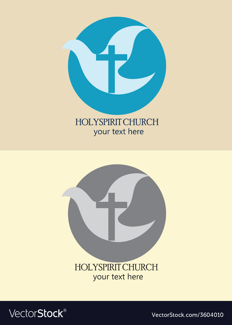 Holyspirit church logo vector | Price: 1 Credit (USD $1)