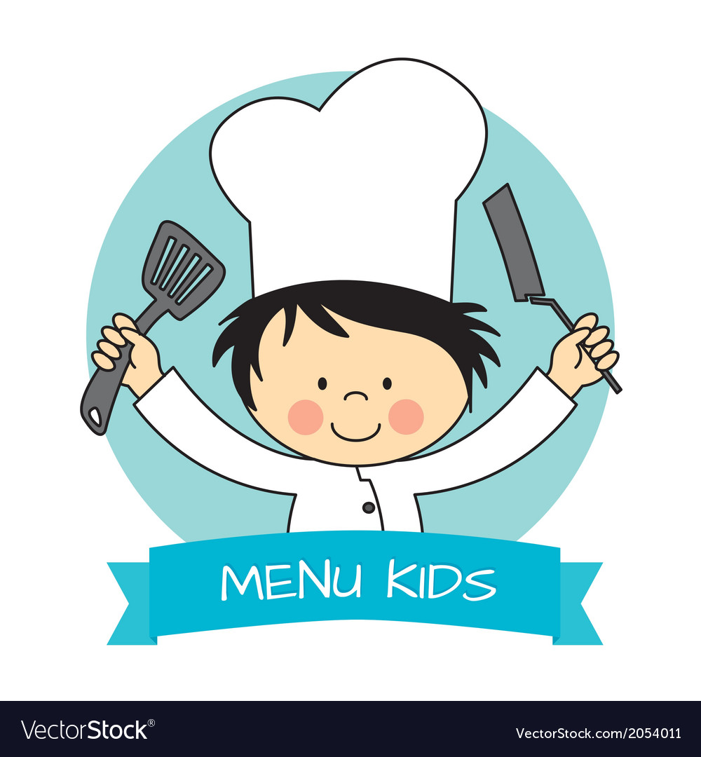Little chef boy vector | Price: 1 Credit (USD $1)