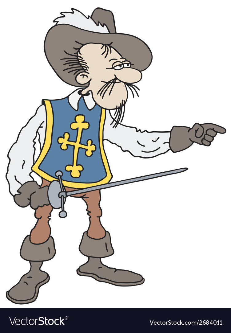Musketeer vector | Price: 1 Credit (USD $1)