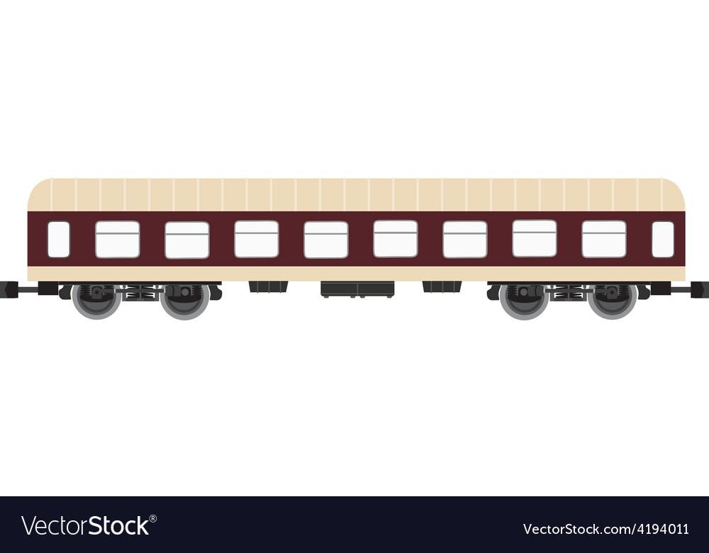 Passenger wagon vector | Price: 1 Credit (USD $1)