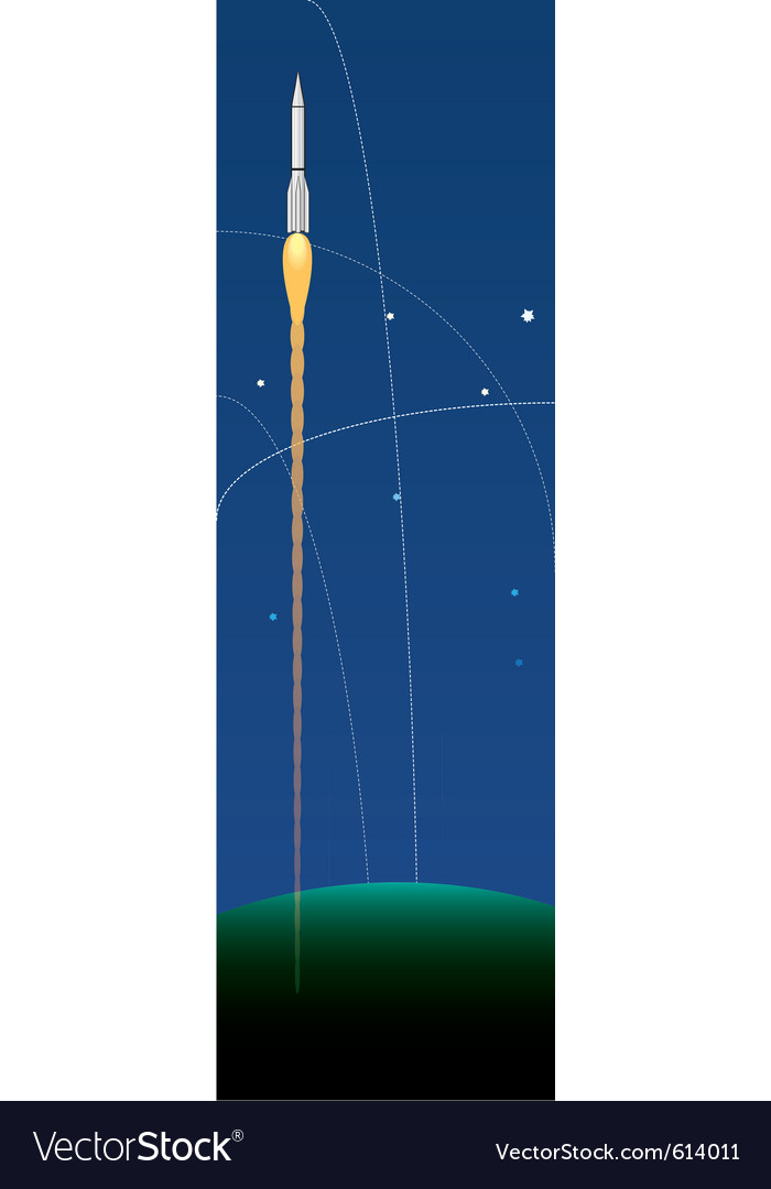 Space rockets vector | Price: 1 Credit (USD $1)